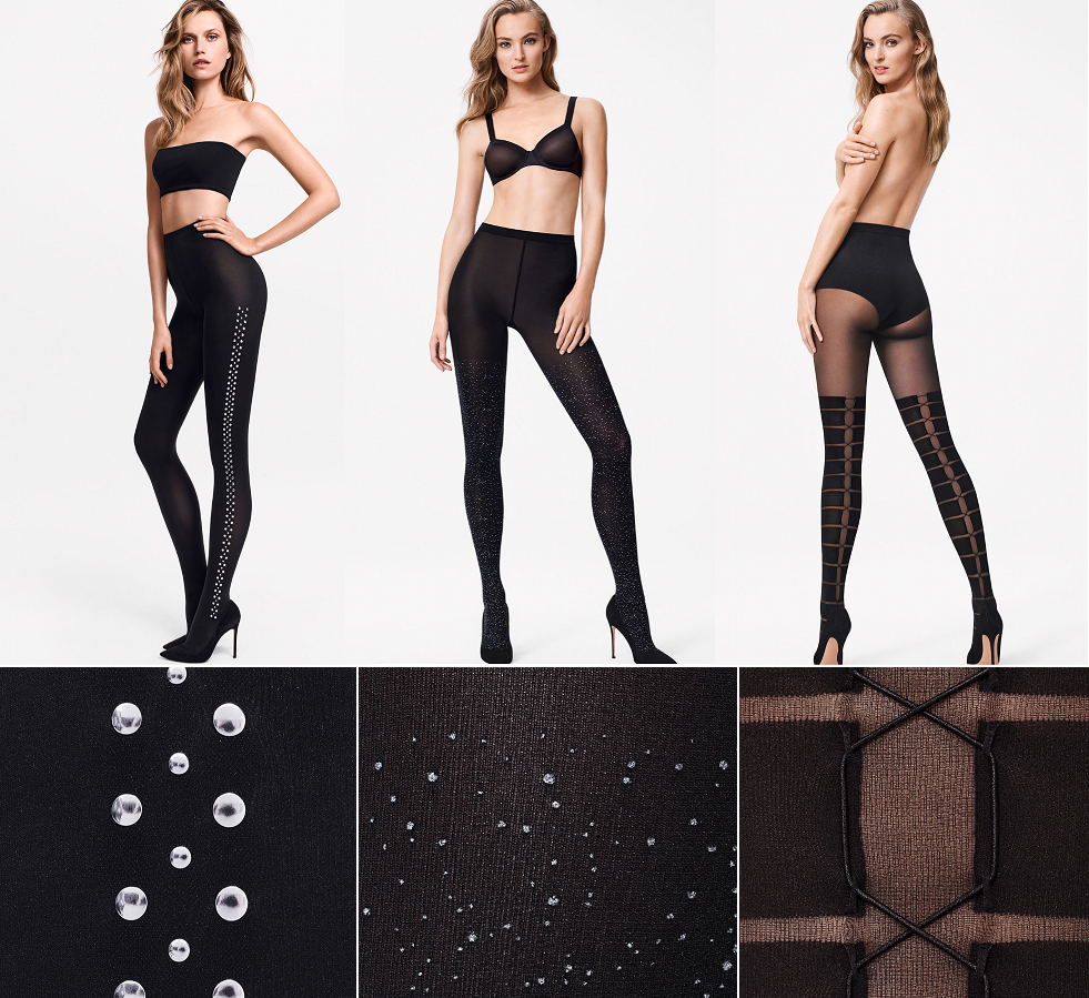 Rajstopy we wzory: Wolford